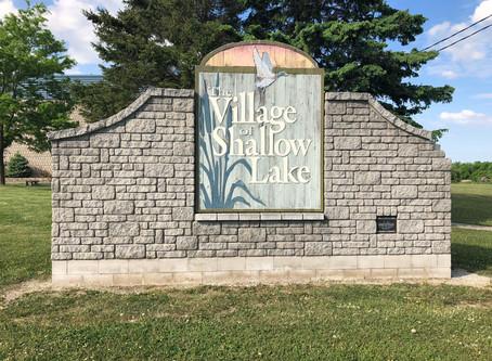 Village of Shallow Lake History