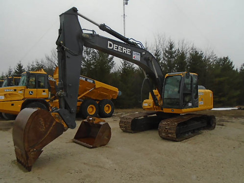 Deere 200D Hydraulic Excavator