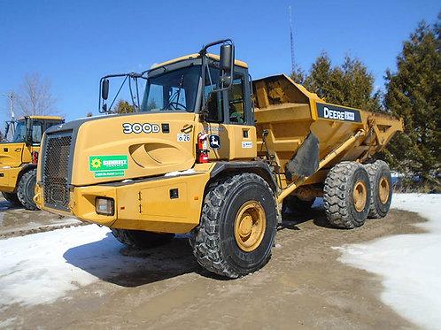 Deere 300D Rock Truck