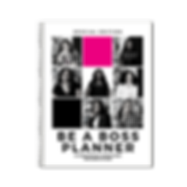BE A BOSS PLANNER BY KARINE MELISSA AND