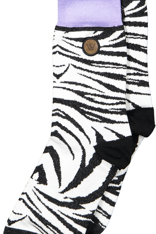Zebra Socks (Men)