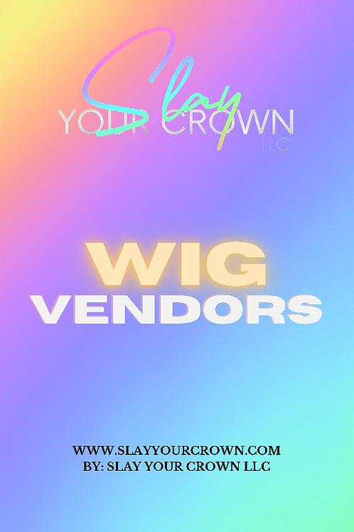 Wig Vendor List