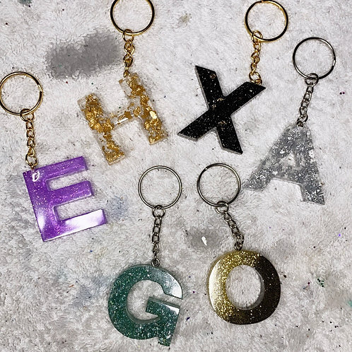 Keychain Letters