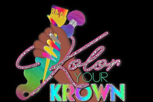 KolorYourKrown Service👩🏽🎨