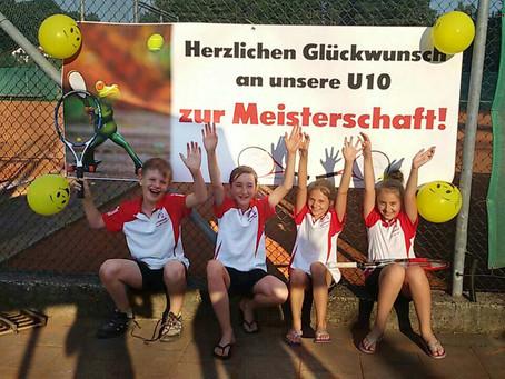 Toller Erfolg für den Kirchberger Tennisnachwuchs