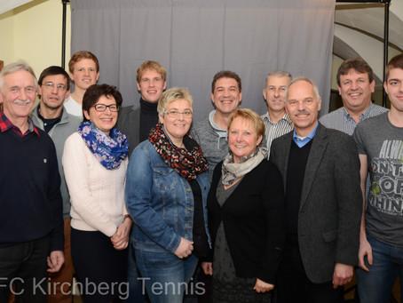 Tennisabteilung des FCK  größtenteils wieder unter bewährter Führung