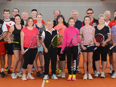 Nikolaus-Turnier der FC-Tennisspieler