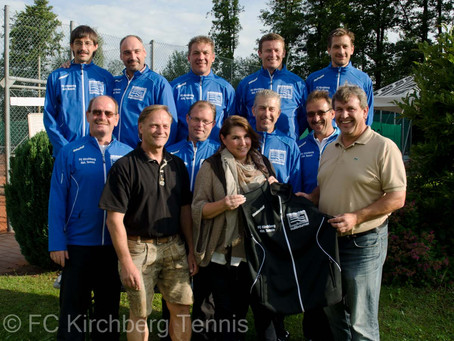 Matratzen-Nußbaumer sponsert Tennisabteilung des FCK