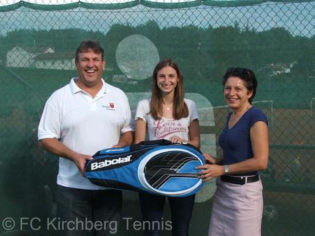 Die Abteilung Tennis begrüßt das 200ste Mitglied