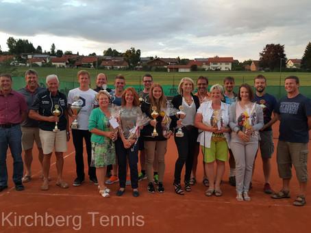 Vereinsmeisterschaften 2015 der Abteilung Tennis des FC Kirchberg