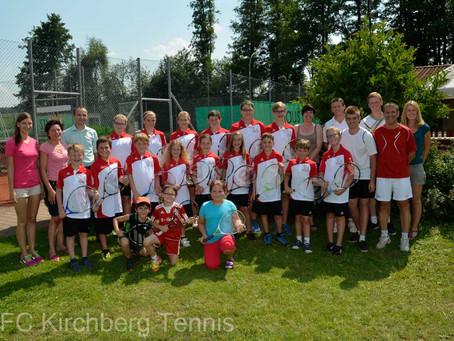 Drittes Jugendtenniscamp in Kirchberg