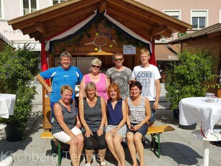 Die Abteilung Tennis im Bürgerfest Eggenfelden