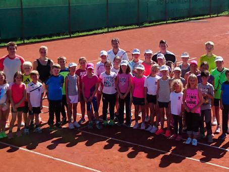 Wieder traditionelles Tenniscamp in Kirchberg
