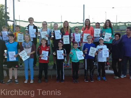 Jugend Vereinsmeisterschaften in Etappen