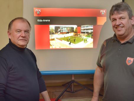 Tennisabteilung des FC Kirchberg beschließt den Bau einer Kids-Arena