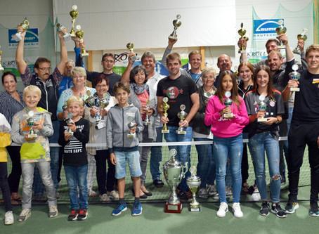 Tennis-Vereinsmeisterschaft mit vielen spannenden Spielen