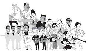 Places incubated and defined pioneers, inaugural class of Rock 'n' Roll Hall of Fame