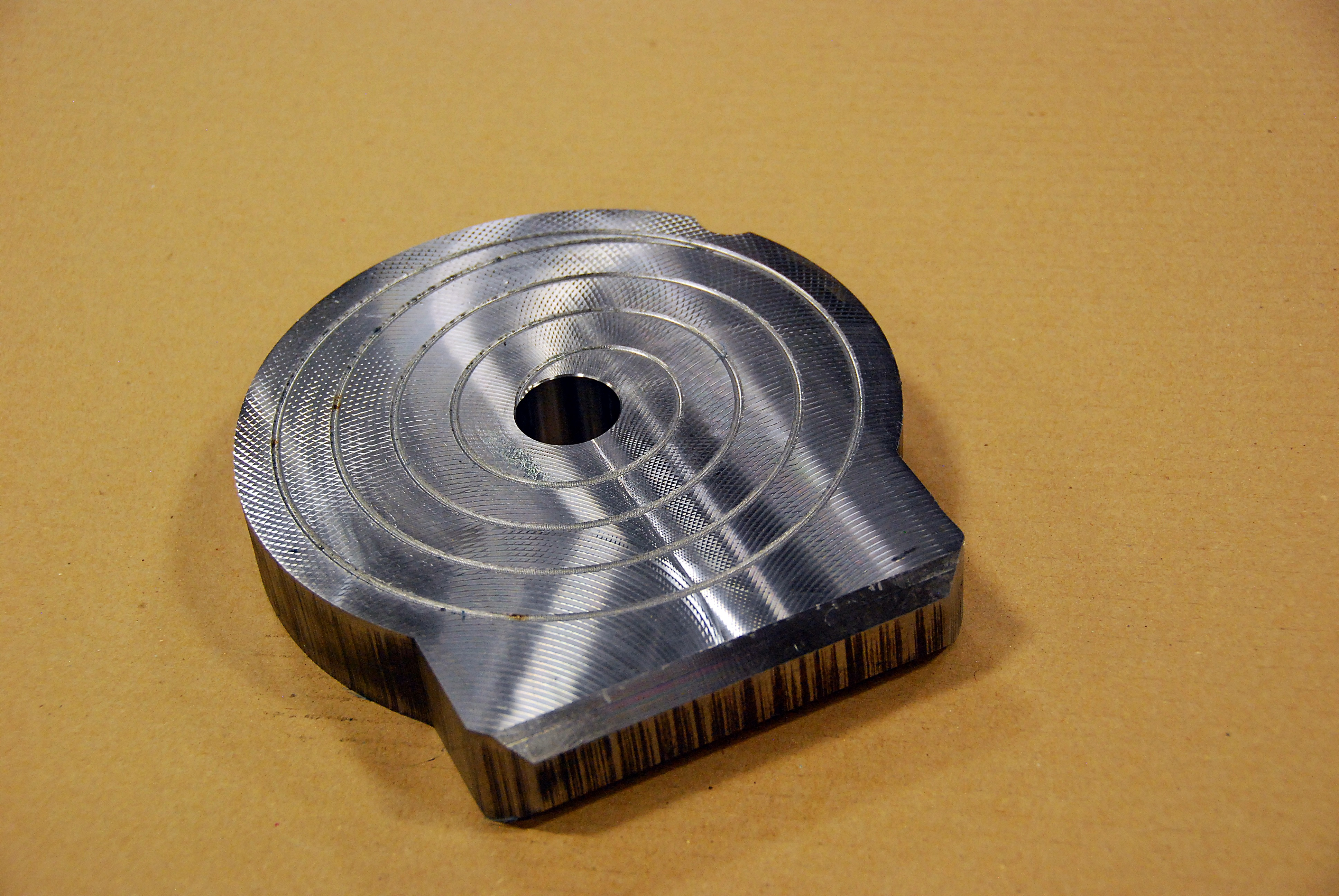 "1 5/8"" Machined Head"