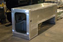 Aluminum Toolbox Weldment