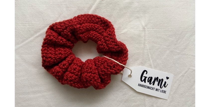 Terracotta Scrunchie by Garni