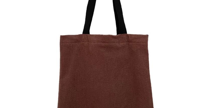 E | M bag 1.0 CORD DUSTY PINK
