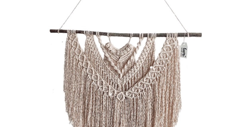 Macrame Wall Hanging 2.0 by Garni