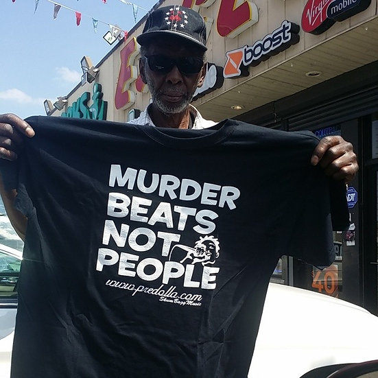 """MurderBeatsNotPeople""Men's T-Shirt"