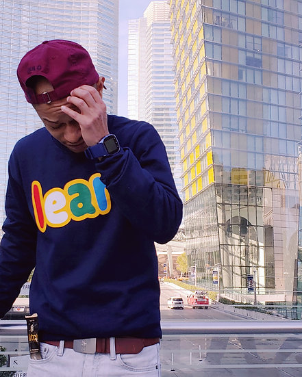 """ L.E.A.R. - Multi-Color "" Men's Crewneck"