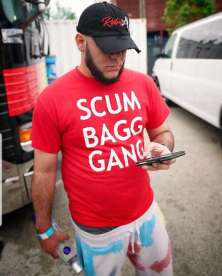 """  ScumBagg Gang  "" Men's T-Shirt"