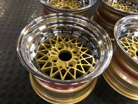 """13"""" Compomotives wheels refurbished and widened"""