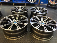 "19"" Bmw M3 wheels refurbished"