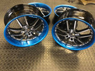 """8""""R1_wheels_tinted_in_candy_blue_on_the_"""