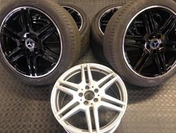 "18""Mercedes_wheels_tinted_in_gloss_black"