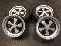 """17"""" Porsche Fuchs wheel restored and refurbished Porsche rims"""