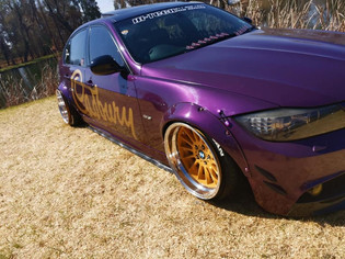 """BMW Motorsport, stepped to 18"""" and widened"""