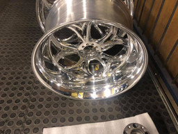 SNS choppers wheels full polished