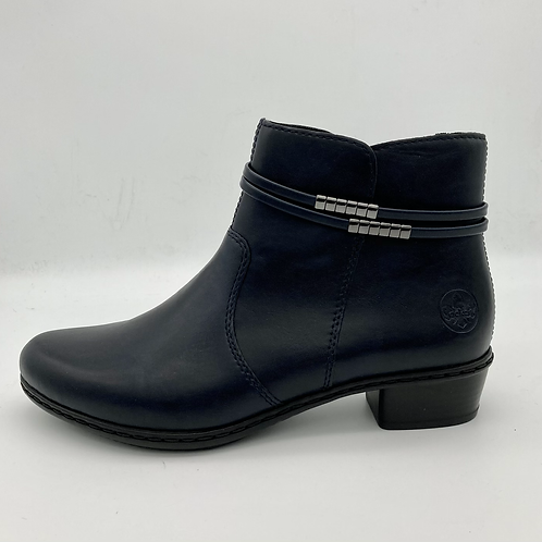 Reiker Navy Ankle boot. R002