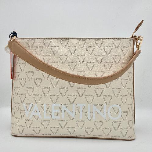 Valentino Cream & Tan Shoulder Bag