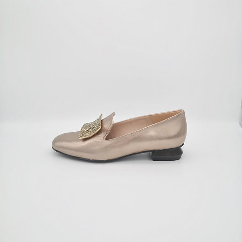 Marian Gold Loafer. M003