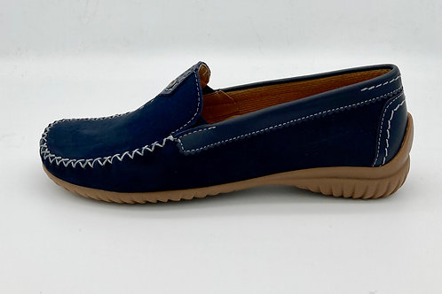 Gabor Navy Loafer. G010