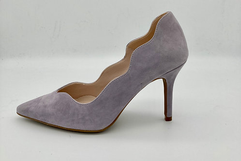 Marian Lilac Suede Court. M003S