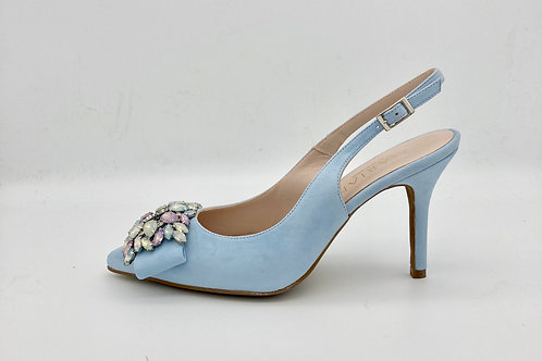 Marian Baby Blue Sling Back. M013S