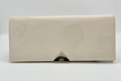 Lodi Ivory Patent Clutch.