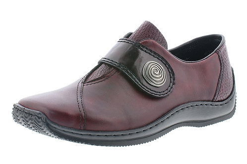 Reiker Burgundy Shoe. R038