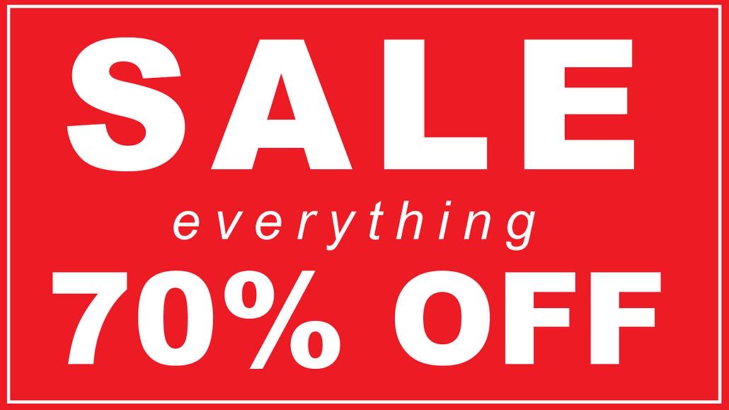 70 percent sale sign.png