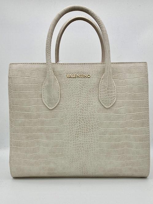 Valentino Ivory Croc Bag