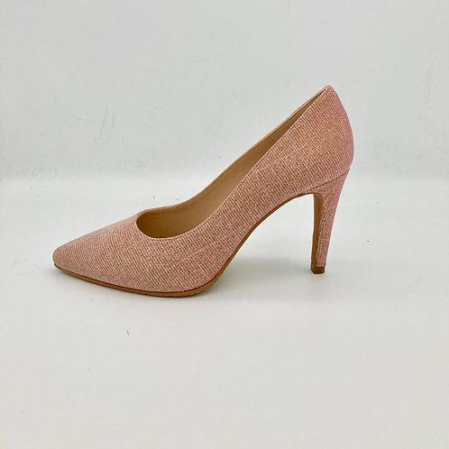 Brenda Zaro Pink Sparke Court Shoe. BZ001