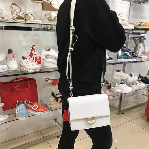Valentino White Shoulder Bag