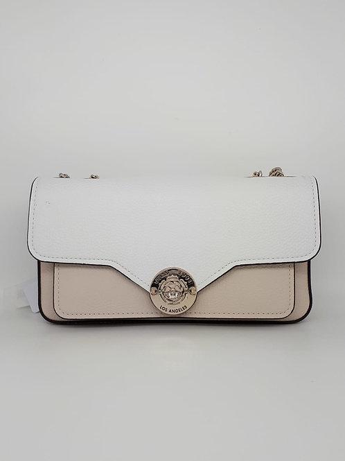 Guess Taupe & White Shoulder Bag. VG774421