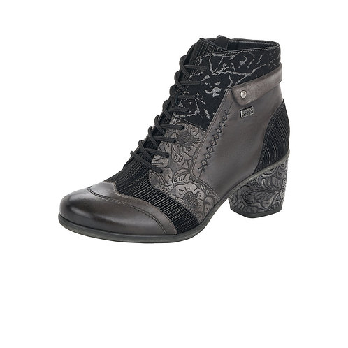 Remonte Lace Up Bootees. R020
